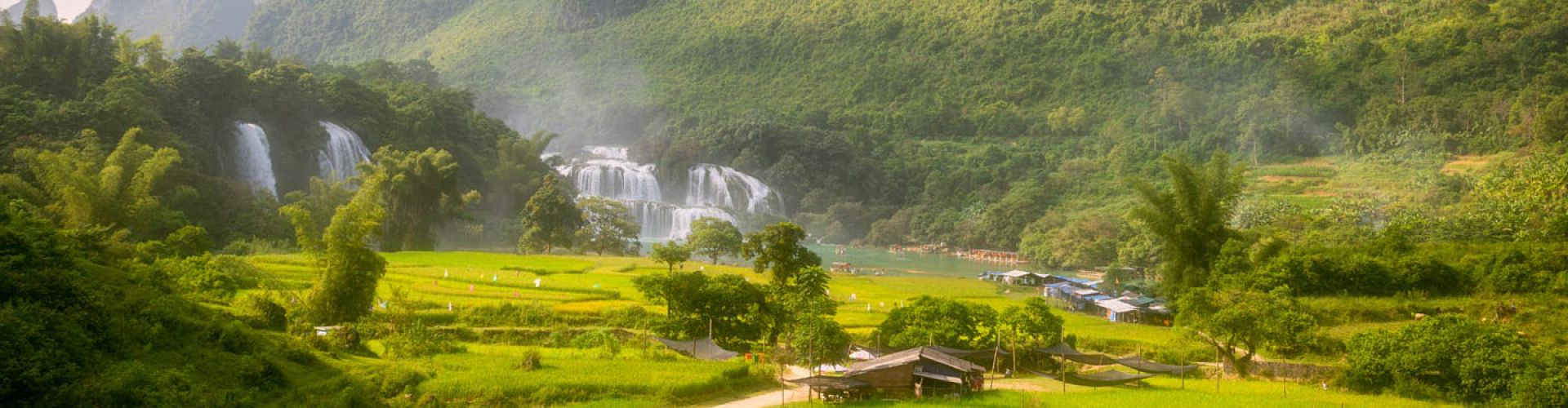 Destinations in Ban Gioc Water Falls
